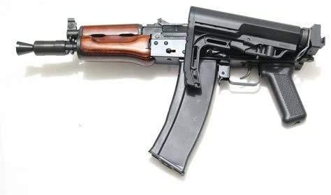 Samoon GHK AK シリーズ AK フォールディング ストック アダプター アルミ CNC Folding Stock Adapter // AK105, AKS74U, AKS74M, AK74MN Hephaestus GHK AK-STOCK-FOLD-AD