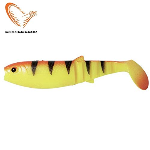 Savage Gear Cannibal Shad 12,5cm/20g Golden Ambulance - Sonderfarbe