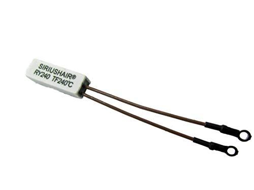 10 (diez) fusibles térmicos para plancha de pelo GHD para 3.1B / 4.0B / 4.1B / 4.2B / 4.3B / 5.0 / 5.0 oro / MS MINI / MS4 / MS5 / SS / SS2 / SS4 / SS5 MAX de SIRIUSHAIR® Ltd .