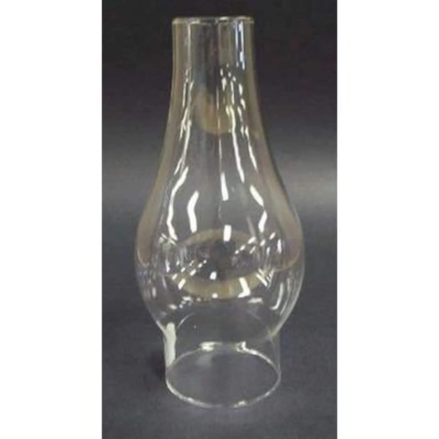 Clear Oil Lamp Chimney 2 3/8 x 7 1/2