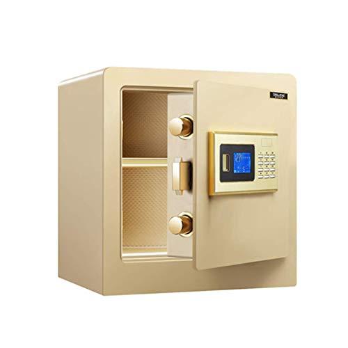 HCYY Caja Fuerte de Seguridad, Caja Fuerte de Seguridad con contraseña electrónica con Teclado Caja de Seguridad Extra Grande con Cerradura para Oficina en casa, 380 mm x 320 mm x 400 mm