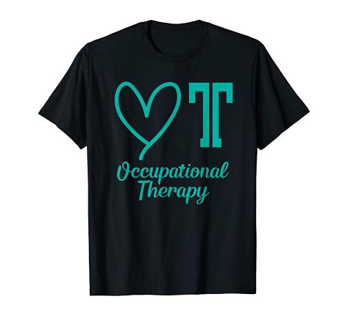 Adorable camiseta de terapia ocupacional – camisa de regalo para mujer OT Camiseta