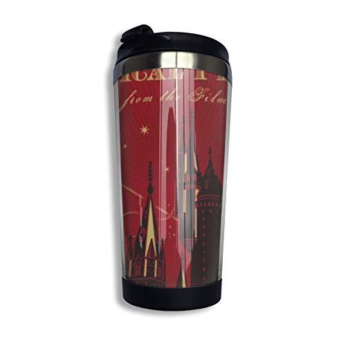 Harry Potter - Taza de café mágica de acero inoxidable para botella de agua