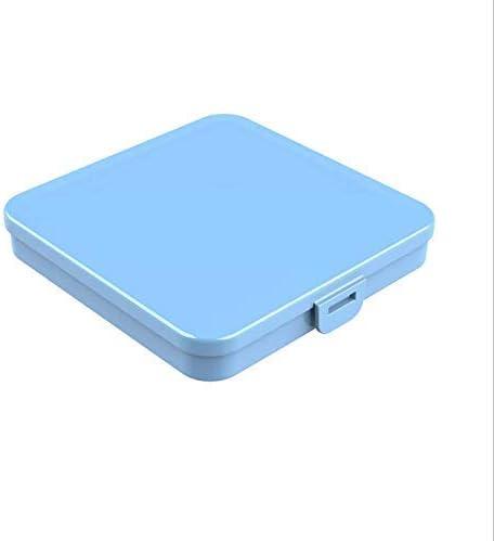 Almacenaje de M/áscara de Prevenci/ón Contaminaci/ón Organizador Caja de Mascarilla de Almacenamiento de Pl/ástico Reutilizable Pack 2 Cajas Estuches de Almacenaje de Pl/ástico Port/átiles con Tapas