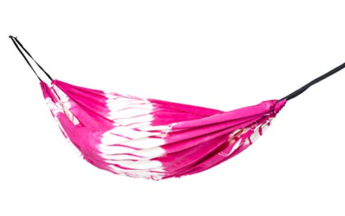 slomock Hängematte & Strandtuch für 2 Personen, 2 in 1, zu 100% aus Baumwolle in 8 Farben (In- & Outdoor 250 x 145 cm + 2 Seile 250 cm)...
