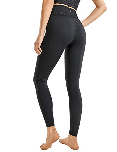(30% OFF Deal) Women's Soft Reflective High Waisted Leggings – 25″ SM BLK $16.80