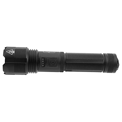 Linterna, Pantalla De Cantidad Eléctrica Linterna USB Recargable Para Exteriores