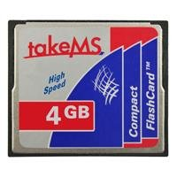 takeMS HighSpeed CF 4096.0 MB CompactFlash Card 4096 MB