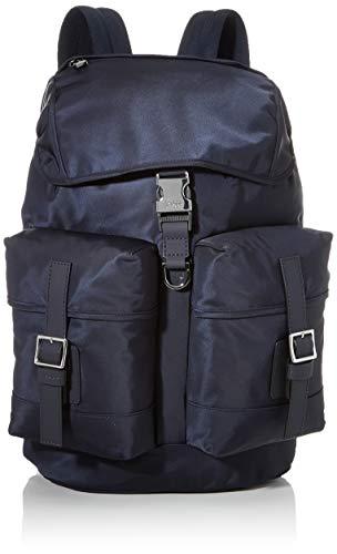 BOSS Herren Meridian F_backpack Rucksack, Blau (Dark Blue), 17x41x29 cm