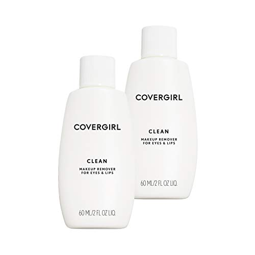 Covergirl Clean Makeup Remover for Eyes & Lips, 2 Count