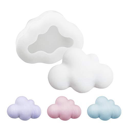 Molde de silicona WANDIC, 1 pieza 3D Cloud silicona molde he