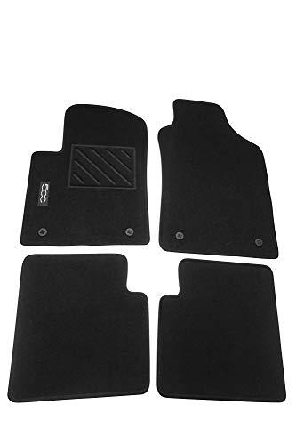 Mopar® Authentic Accessories 71807922 Tappetini in Moquette per Auto. Colore Nero