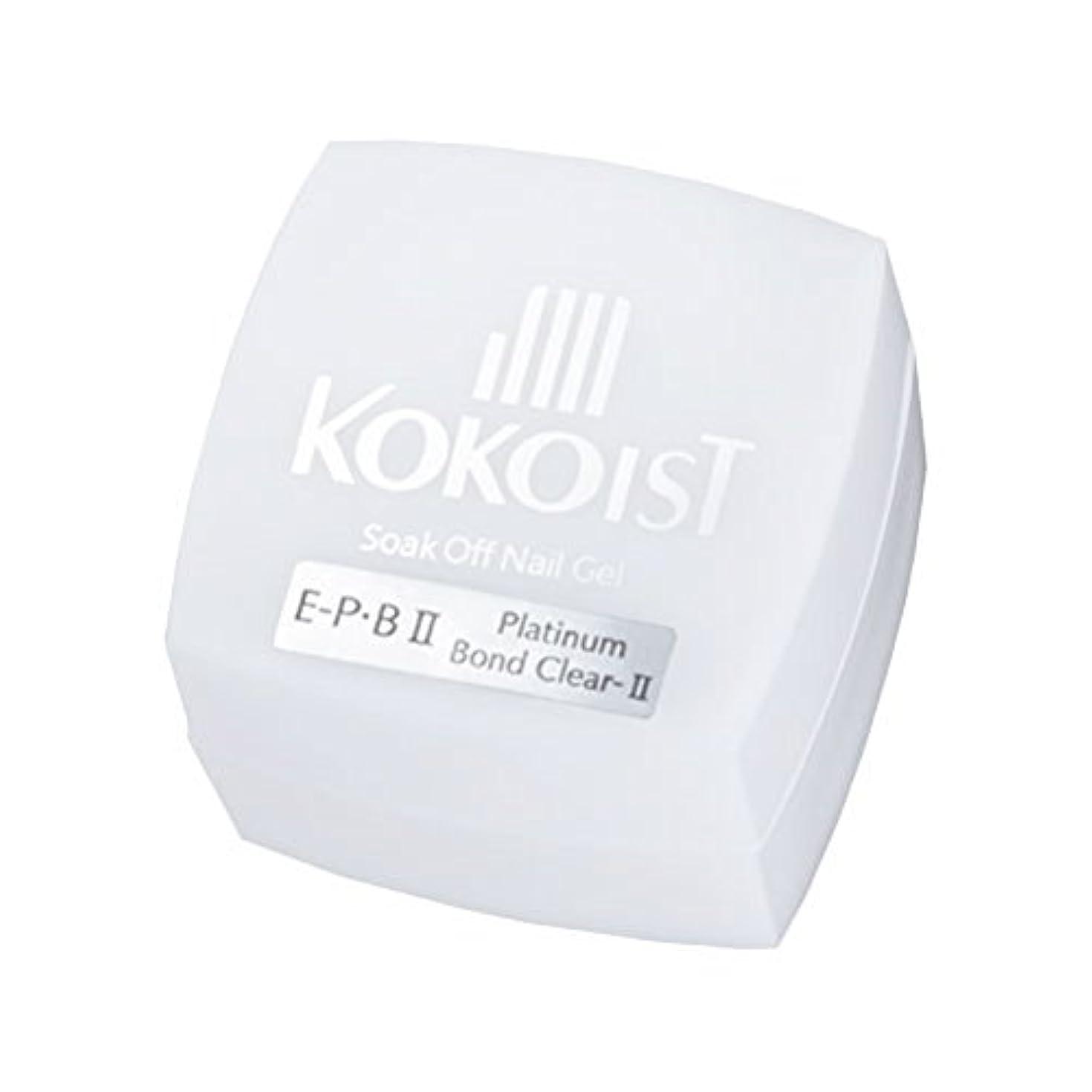 貪欲変化する区画KOKOIST フ゜ラチナホ゛ント゛II 4g ジェル UV/LED対応