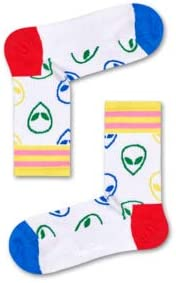 Happy Socks Athletic Alien Mid High Sock