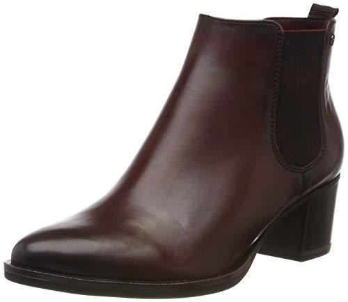 Tamaris Damen 1-1-25001-23 Chelsea Boots, Rot (Bordeaux 549), 39 EU
