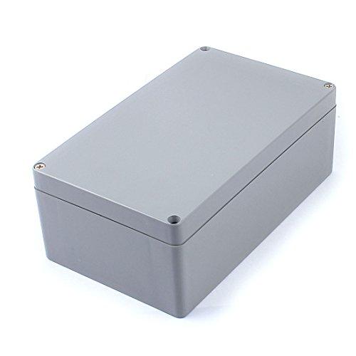 Aexit 200mmx120mmx75mm graues Gehäuse Gehäuse Elektronischer Kabel Draht Projektbox (4f63884bed53f55eee09ab5808269a1c)