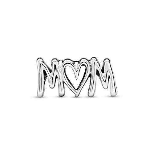 small Pandora Jewelry Mama Script Sterling Silver Charm