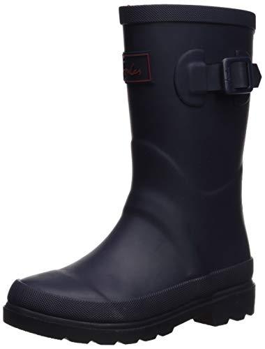 Joules Boy's Field Welly Rain Boot, french navy, 11 Medium UK Little Kid (12 US)