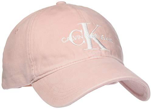Calvin Klein J Monogram cap W Berretto da Baseball, Rosa (Strawberry Cream 636), Unica (Taglia Produttore: OS) Donna