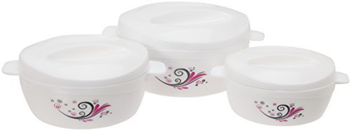 Cello Alpha Insulated Food Warmer Server Casserole Hot Pot (Gift-Set)