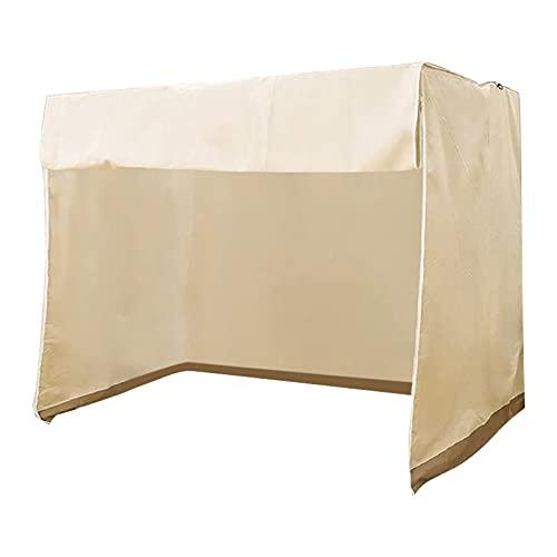 DSPKOhG Hanging Chair Fabric with Zip Waterproof Windproof Winter Proof Furniture Protective Cover Garden OutdoorWasserdicht und Abdeckung für Gartenschaukel, Schutzhülle für Outdoor-Schaukel