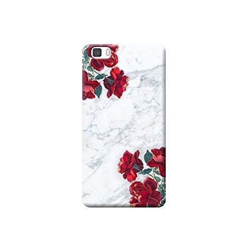 TheBigStock Cover Custodia per Huawei P20 P10 P9 P8 Lite Smart Plus 2015 2017 Morbida TPU 4 - AF02 Rose Rosse su Marmo, P9 Lite