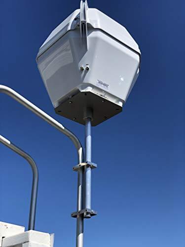 12' Vertical Portable Satellite Ladder Mount
