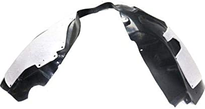Go-Parts - OE Replacement for 2015 - 2017 Chrysler 200 Front Fender Liner (Splash Shield) - Left (Driver) 68102923AE CH1248169 Replacement For Chrysler 200