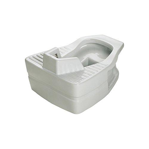 Thermomat 565 Vaso alla Turca per Installazione sopra Pavimento, Bianco