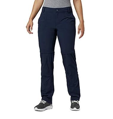 Columbia Women's Silver Ridge 2.0 Convertible Pant, Dark Nocturnal, 6 x Regular