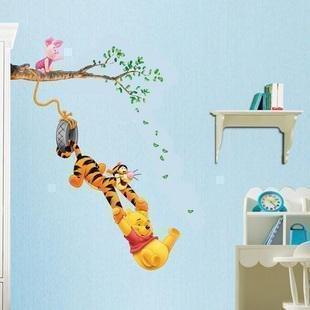 TC1067 WINNIE L'OURSON ET AMIS DES ENFANTS AUTOCOLLANT mur de la salle DECOR 60 x 33cm