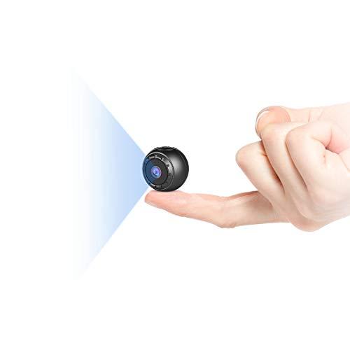 MHDYT Mini Spy Camera, 1080P HD Small Hidden Cameras Wireless Home Security...