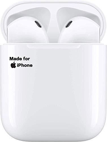 Écouteurs Bluetooth,Écouteurs sans Fil,écouteurs Sportifs avec IPX7 Écouteurs 3D stéréo étanches dans l'oreille Intégré HD Mic Casques pour Android/iPhone/Apple/AirPods Pro/AirPods/AirPod/AirPods 2