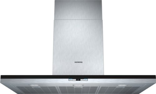 Siemens LC97BA542 iQ500 Wandhaube / 90 cm / Wahlweise Abluft- oder Umluftbetrieb / Metall-Fettfilter, spülmaschinengeeignet / edelstahl