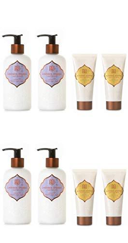 AKALIKO Lavender Cherish Body Lotion and Blooming Jasmine Hand Cream - Set C.