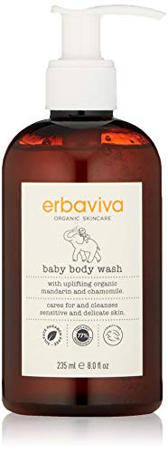 erbaviva Baby Body Wash, 8 Fl Oz