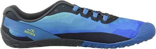 Merrell Vapor Glove 4, Zapatillas Deportivas para Interior para Hombre, Azul (Mediterranean BLU), 42 EU
