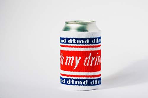 don't touch my drink Dosenkühler, Bier Cover, Getränkemarkierung, Drink Fashion, Koozie dtmd - für 0,33 l Dosen und Flaschen