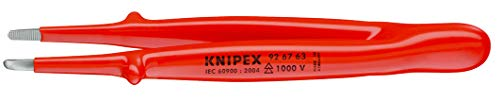 KNIPEX 92 67 63 Präzisions-Pinzette isoliert 145 mm