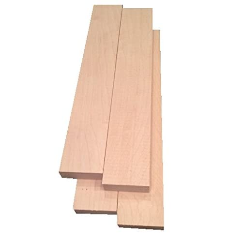 Ambrosia Maple boards lumber 3//8 surface 4 sides 12/""