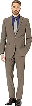 Kenneth Cole REACTION Men s Slim Fit Suit Light Brown 44 Long