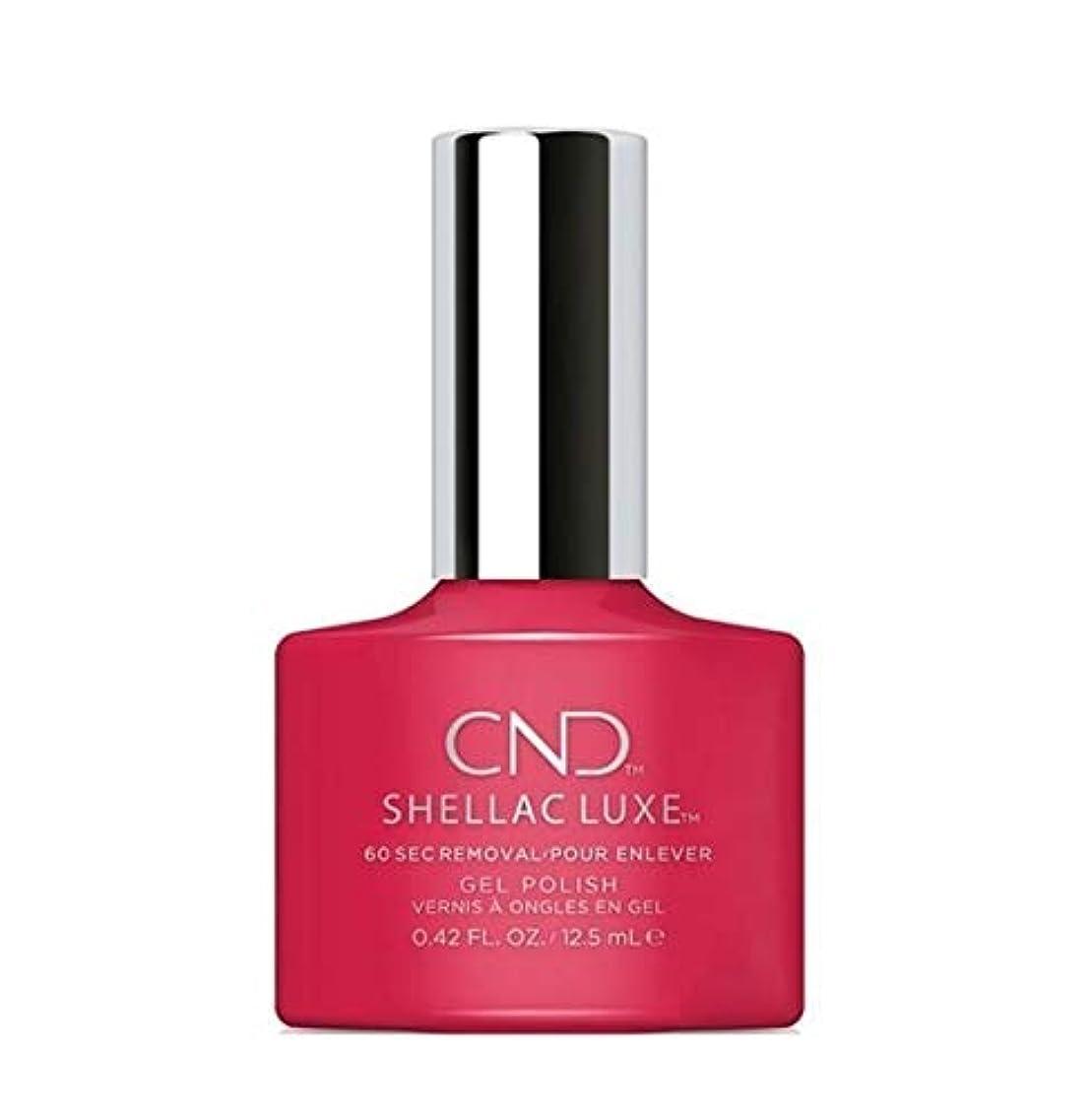 以前は販売員エンドテーブルCND Shellac Luxe - Femme Fatale - 12.5 ml / 0.42 oz