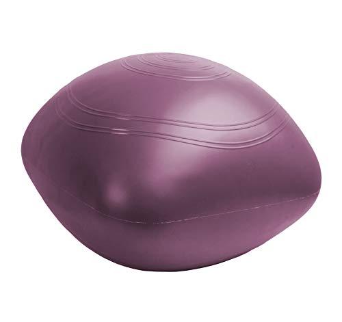 Togu - Pelota Ovalada para Yoga (40 x 40 x 35 cm), Color Morado