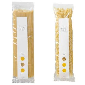 ノースファームストック 北海道産小麦のパスタ2種 スパゲティ200g/ペンネ250g 20セット