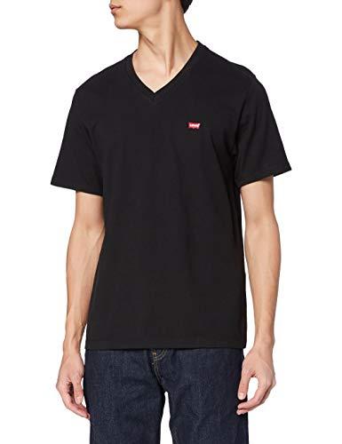 Levi s Orig HM Vneck T-Shirt, Black (Mineral Black 0001), XX-Large Uomo