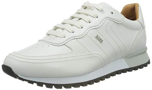BOSS Business Herren Parkour-L_Runn_lt Sneaker, White100, 40 EU