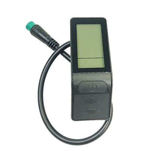 Vaorwne Ebike Display 24V / 36V / 48V KT LCD4 Display wasserdichte Bike Controller Kits für KT Controller