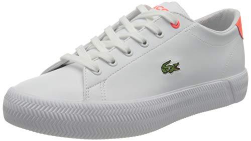 Lacoste Unisex dziecięce buty typu sneaker Gripshot 0721 1 Caj, biały - Wht Pnk - 37 eu