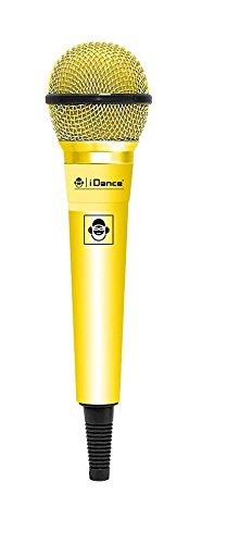 iDance Microfono CLM10 Karaoke, Ideal para Celebraciones y Fiestas, 4cm