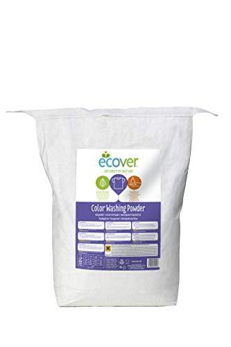 Ecover Color Waschpulver Konzentrat Lavendel (7,5 kg / 100 Waschladungen), Colorwaschmittel mit pflanzenbasierten Inhaltsstoffen, Waschmittel Pulver für reine Buntwäsche